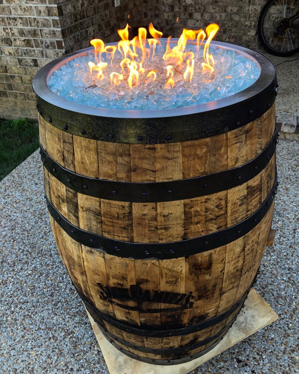 An Empty Barrel Is A Diy Ers Dream Get Your Fire Pit Kits And
