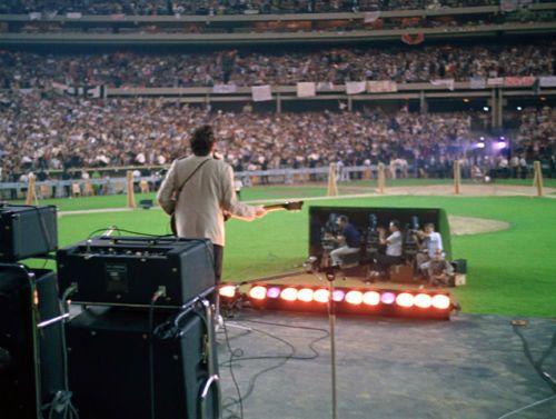 """The Beatles John Lennon at Shea Stadium 14 x 11/"""" Photo Print"""