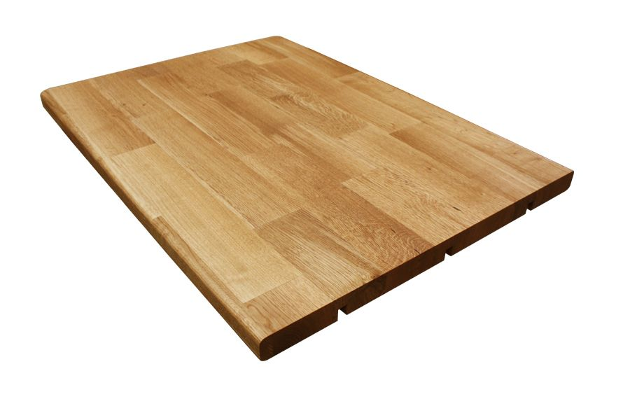 Massivholz Deluxe Eichenplatte Mit Abgerundeten Ober Und Unterkanten Eiche Massiv Deluxe Kuchenarbeit Arbeitsplatte Eiche Holzarbeitsplatte Arbeitsplatte