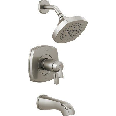 Delta Stryke Thermostatic Tub And Shower Faucet With Diverter