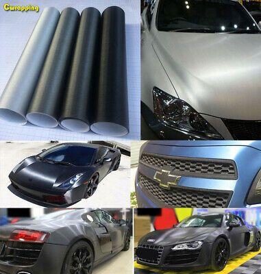 Car Styling Matt Aluminum Brushed Steel Vinyl Film Auto Wrap Foil Sticker Pvc In 2020 Car Wrap Vinyl Wrap Brushed Steel