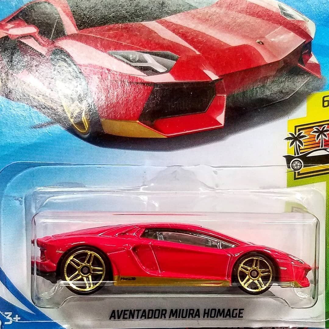 Red Hot Lamborghini Aventador Miura Homage Hotwheels Toycollector29 Hotwheelspics Hotwheelscollectors Funko Hot Wheels Hot Wheels Cars Lamborghini Cars