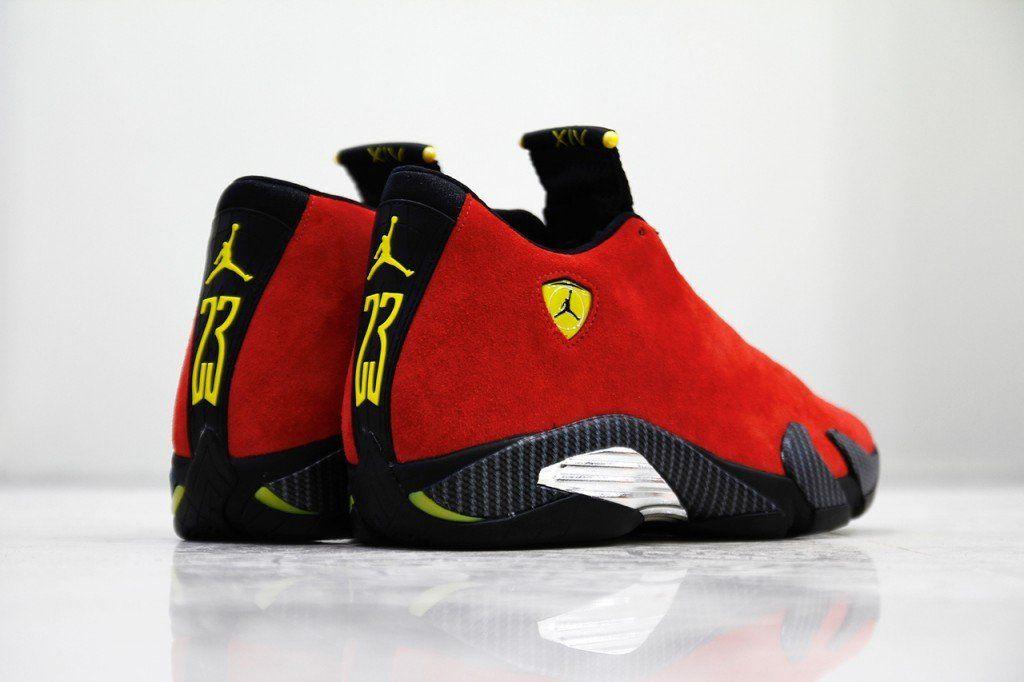 Nike Air Jordan 14 XIV Retro Ferrari