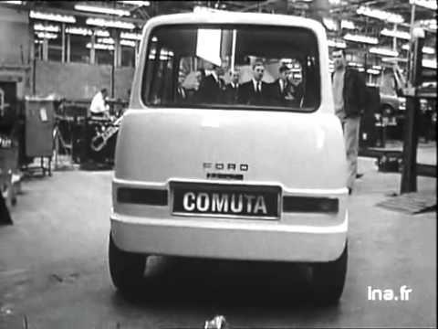 A quand la voiture électrique . Vidéo du 26/04/1968
