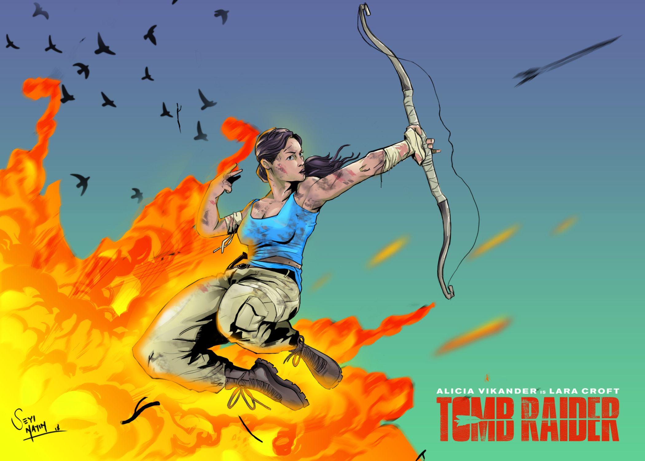 Tomb Raider (2018) Folder Icon by van1518 on DeviantArt