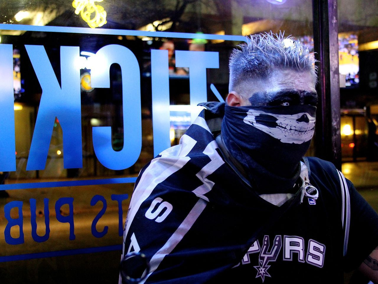 The Ticket Sports Pub, Spurs Phenom, Spurs Fan Cave | Spurs Fan ...