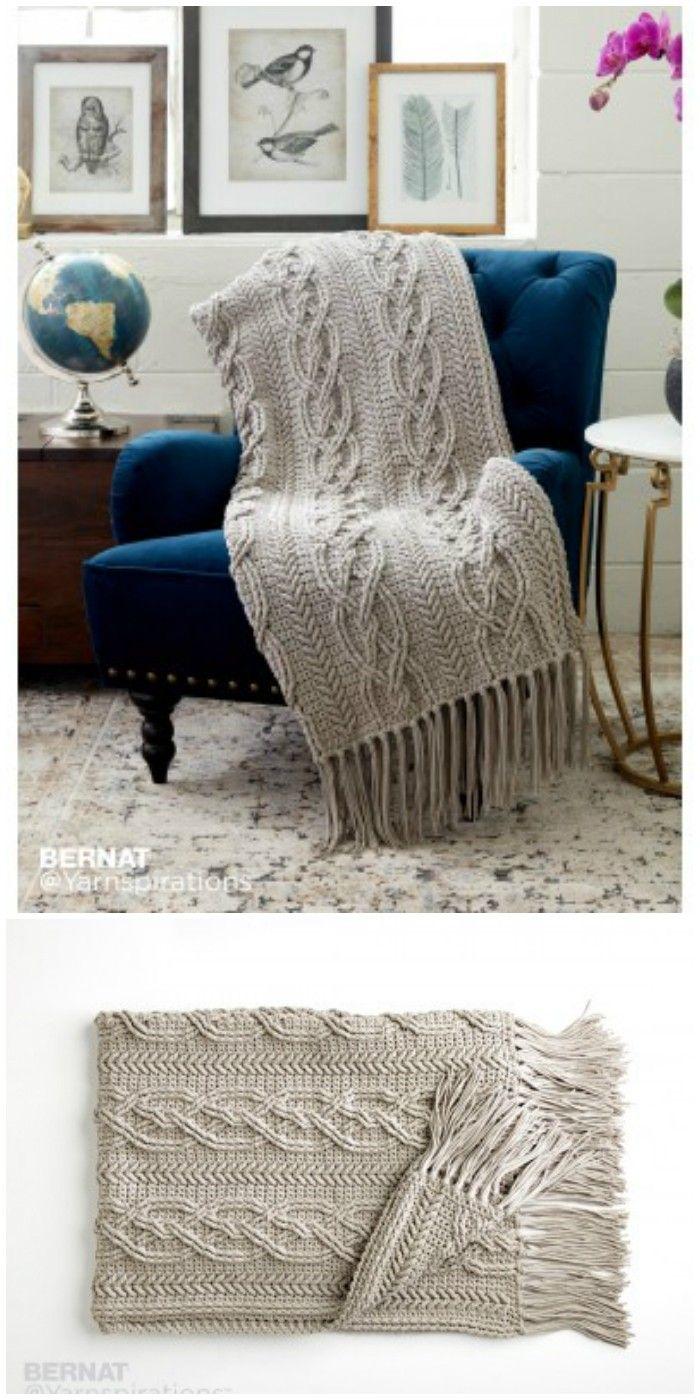 Free Crochet Blanket Patterns – Free Patterns   Manta y Bordado