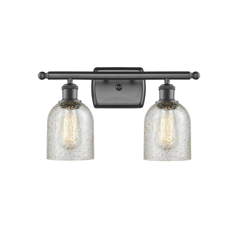 Photo of Innovations Lighting 516-2W Caledonia Caledonia 2 Light 16″ Wide Bathroom Vanity Oil Rubbed Bronze / Mica Indoor Lighting Bathroom Fixtures Vanity
