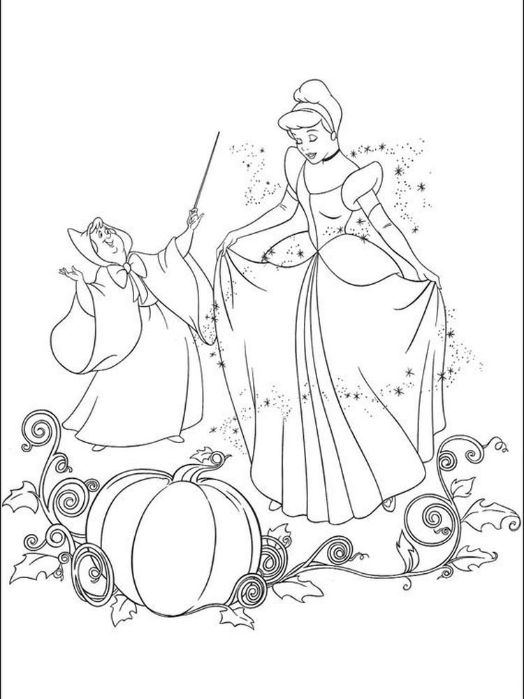 Cinderella Coloring Pages Disney Below Is A Collection Of Cinderella Coloring Page Tha Cinderella Coloring Pages Disney Princess Coloring Pages Coloring Books