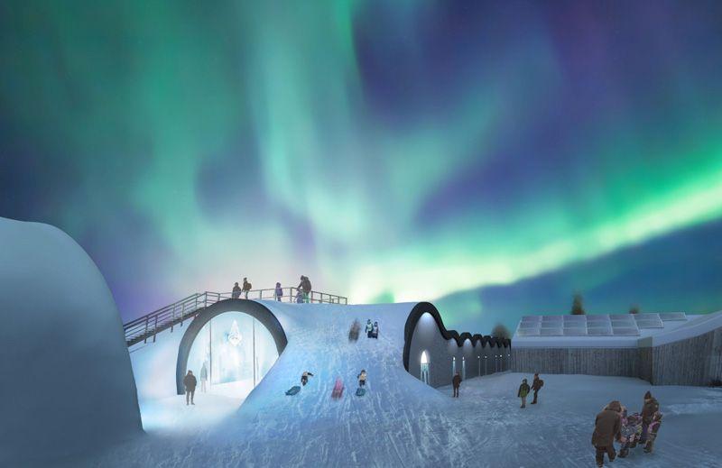 Teamet bakom ishotellet i Jukkasjärvi planerar en hållbar tillbyggnad som kommer vara öppen året runt, och innefatta 20 nya suiter, bar och galleri.
