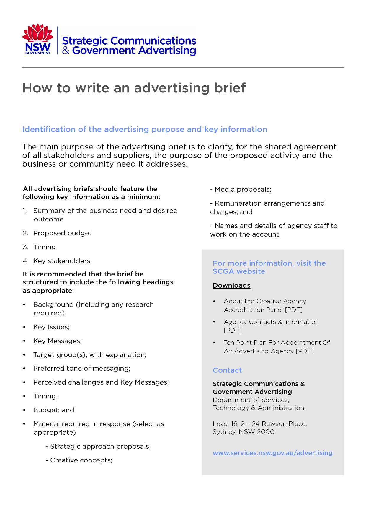 Marketing Brief   MortgageReverseTexasCom  Creative Brief