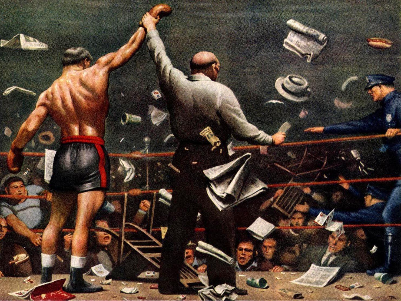 показать художественная картинка бокс если следовать инструкциям