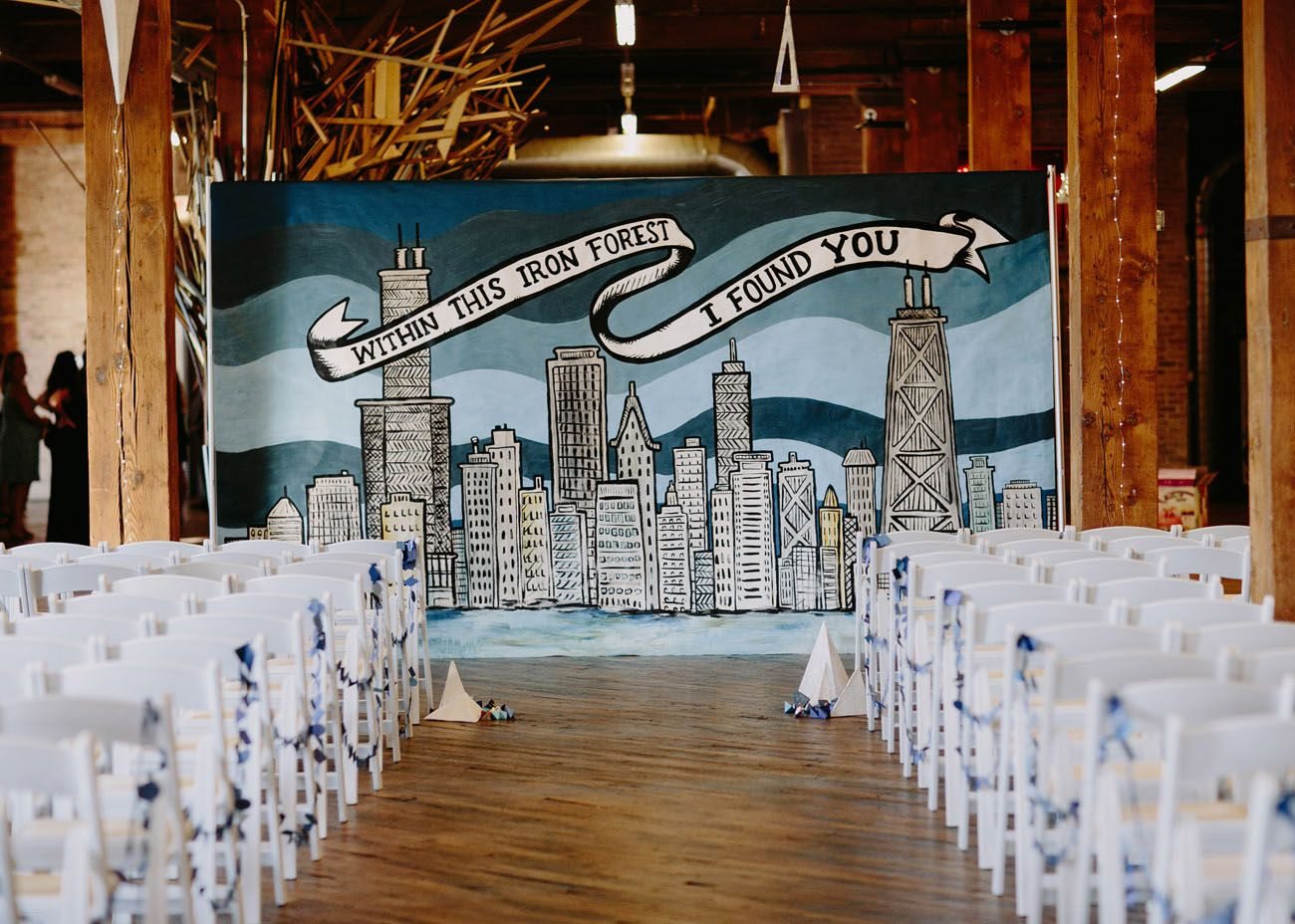 Our Favorite Wedding Decor Details From 2016 Ceremony Backdrop