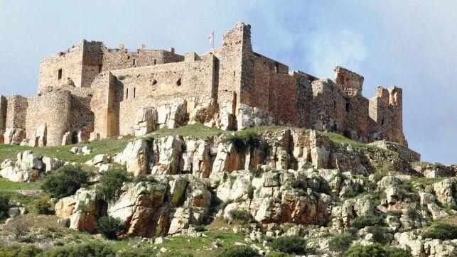Castilla - La Mancha, Ciudad Real, Aldea del Rey: Sacro Castillo -Convento de Calatrava la Nueva.