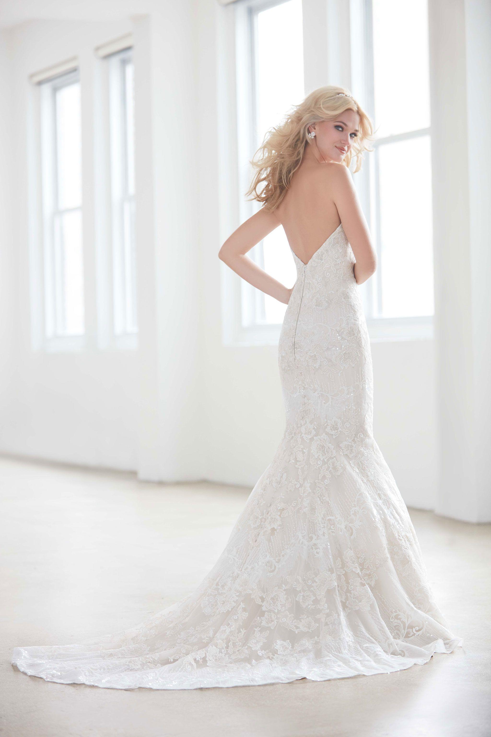 Madison James Mj351 Allure Bridal Wedding Dress Backless Bridal Gowns Designer Bridal Gowns