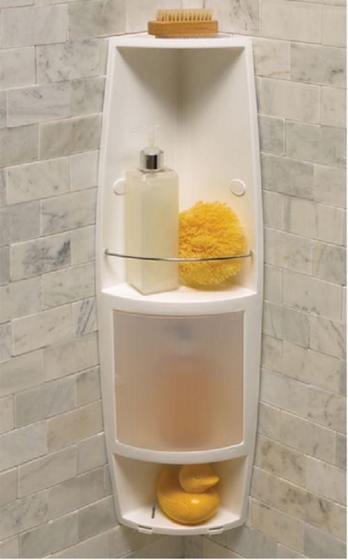2 Shelf Shower Caddy Unit Axis Corner Storage Bath Shampoo Organizer Bathroom Corner Shower Caddy Corner Shower Shower Caddy