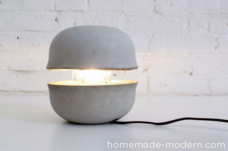 Лампа бетон штукатурка по цементному раствору