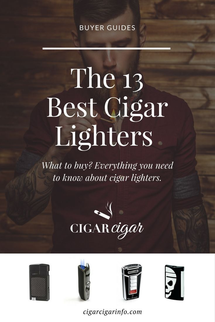 Check our hand picked best cigar lighters of the year and their reviews!