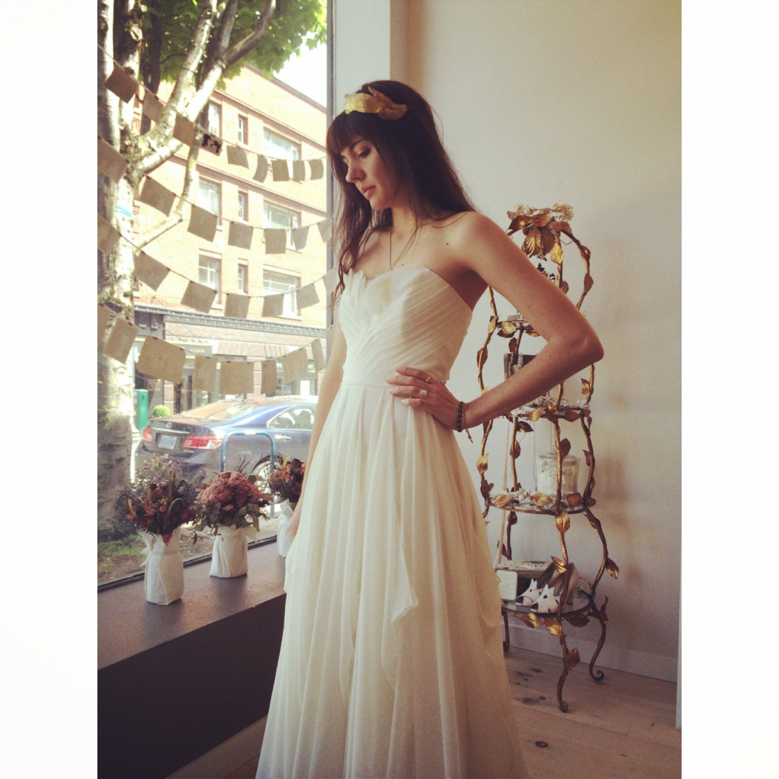 wedding dress by Leanne Marshall at The English Department in ...