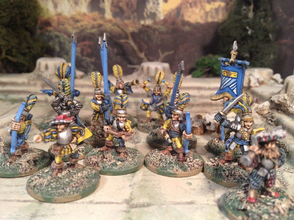 Guards! Guards!: A 15mm Frostgrave Empire warband | Warchest