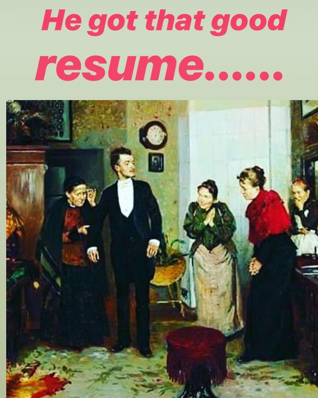 Get that good resume link in bio resume resumes job