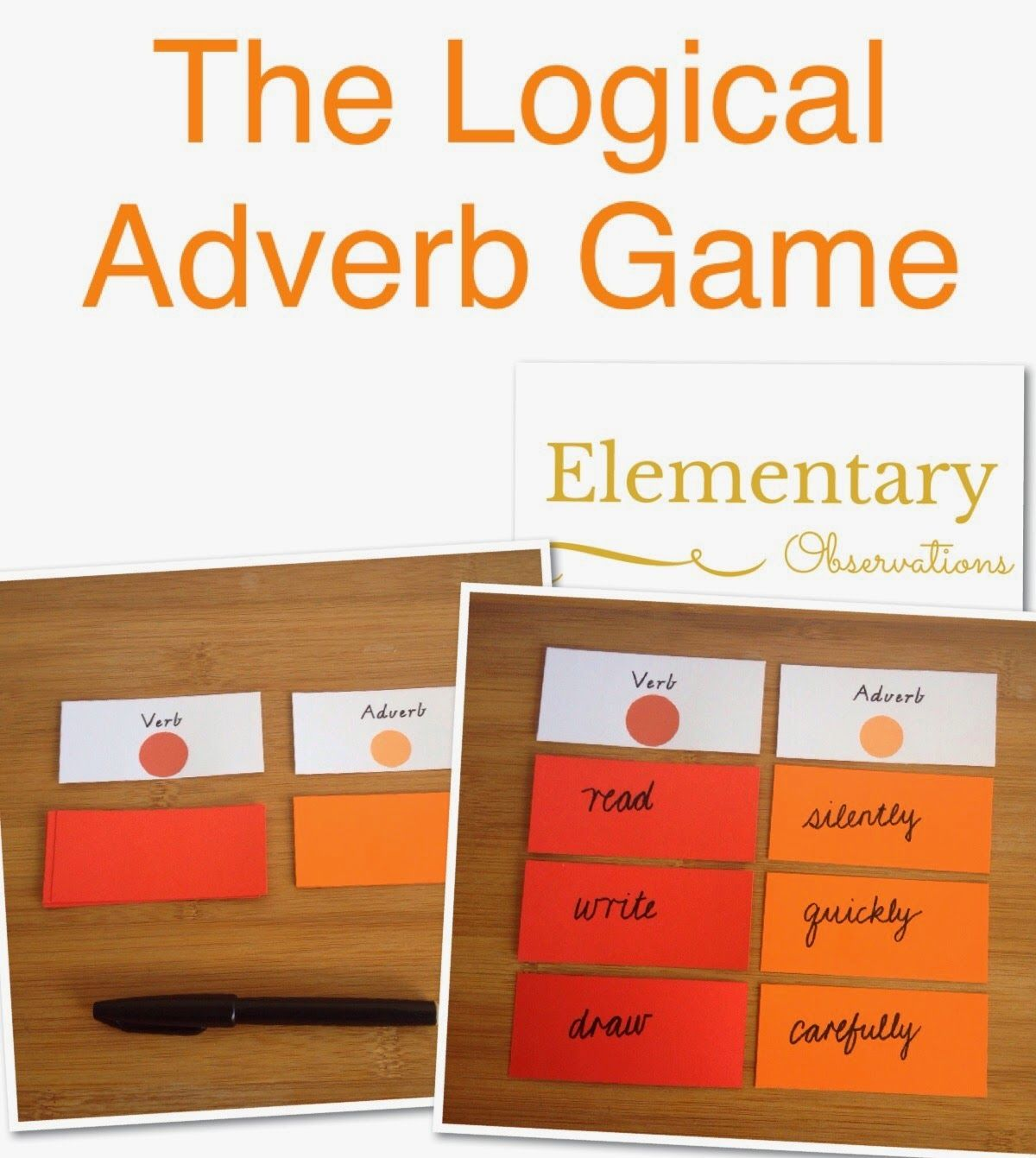 Worksheet Adverb Games For Kids 1000 images about grammar on pinterest