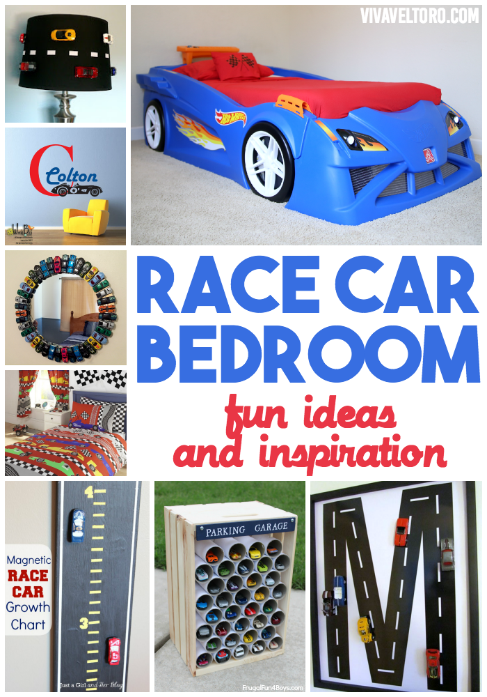 Race Car Bedroom Ideas Featuring The Step2 Hot Wheels