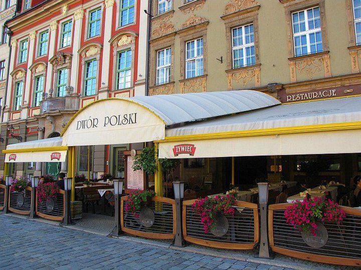 Wroclaw Rynek Restauracja Dwor Polski Wroclaw Poland