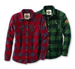 Women's or Men's Beaver Canoe Flannel Shirts from Target Canada  (25% Off) -