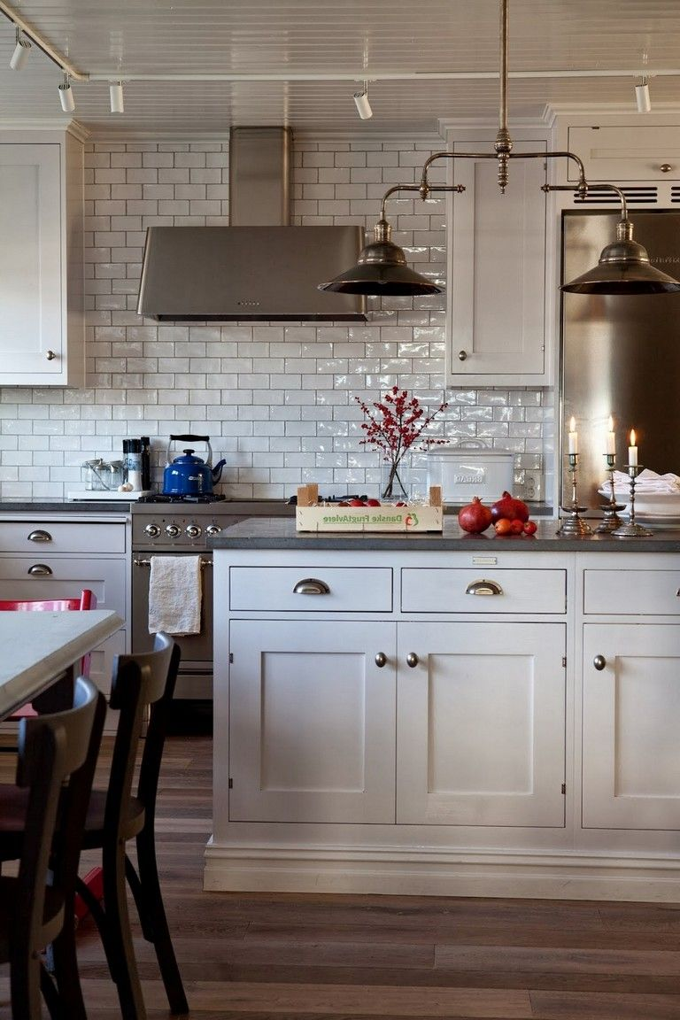 95 Admirable Industrial Kitchen With Shaker Cabinets Design Ideas