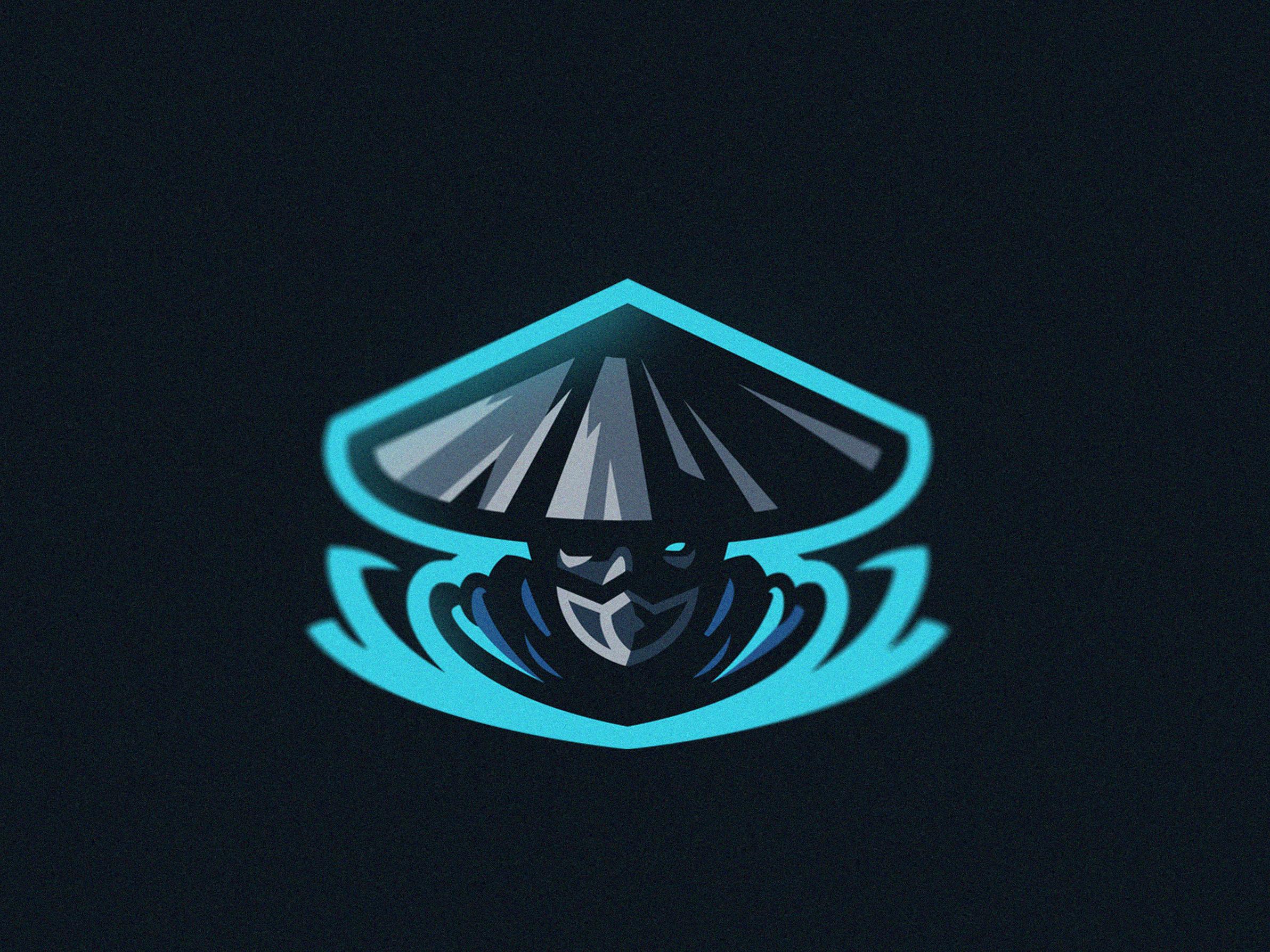 Air Ninja Mascot Logo Logo illustration design, Game
