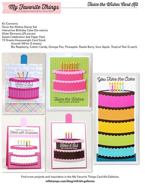 Fabulous Mft Cardkitinspiration Twicethewishes Card Kit Funny Birthday Cards Online Inifofree Goldxyz
