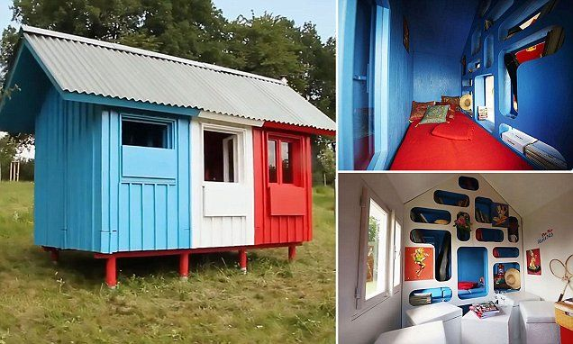 Czech Architect Designs Tiny Flat Pack House Costing Just 1 000