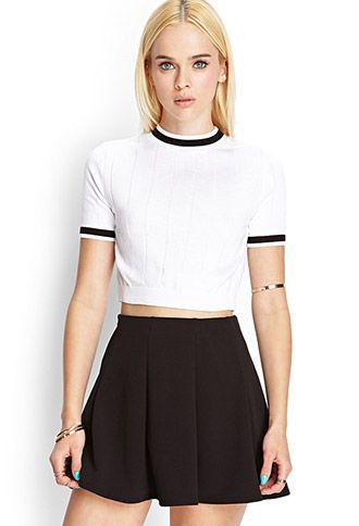 f6b14a130d Clueless Inspired Outfit - Cher Horowitz - Crop Top - Summer - Forever 21