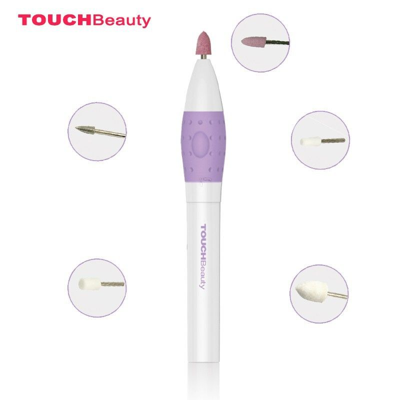 strong electric manicure drill accessory 5 in 1 pen sized nail tools ...