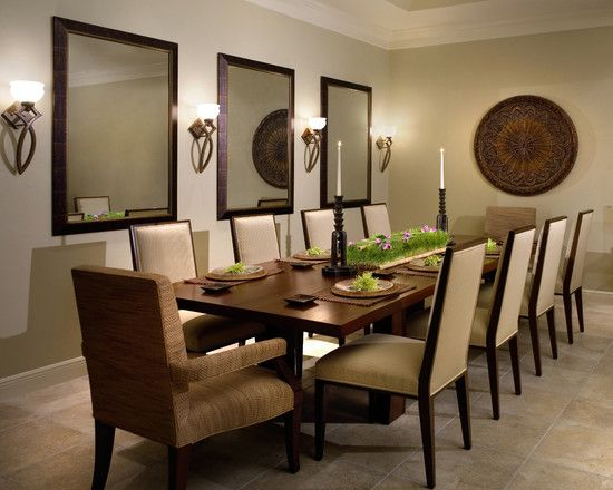 10 Person Dining Room Table Google Search Mirror Dining Room Large Dining Room Dining Room Centerpiece