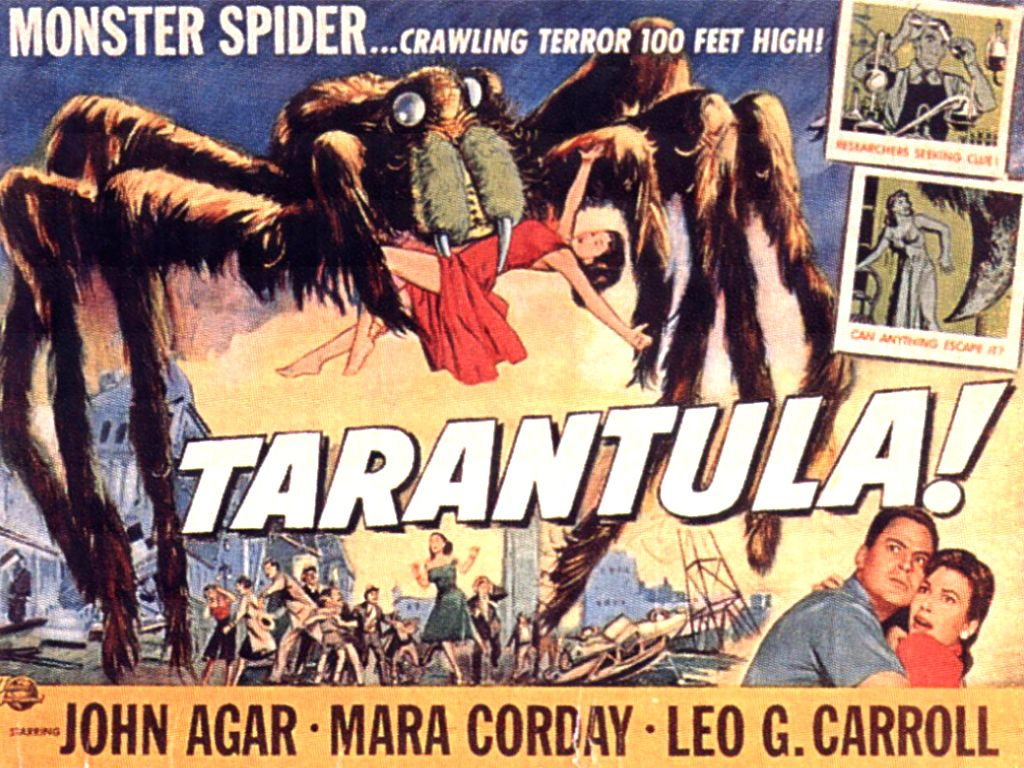 science fiction movies tarantula classic science