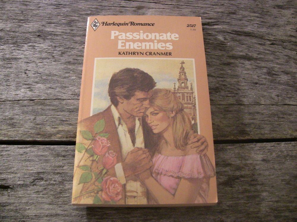 Harlequin Romance Paperback Book 2517 Passionate Enemies