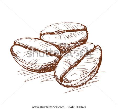 coffee stock vectors vector clip art coffee bean art coffee tattoos coffee drawing coffee bean art