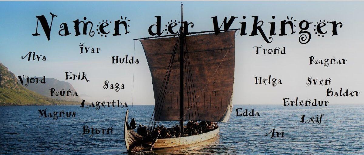 Die Namen der Vikinger | Wikinger namen, Namen und
