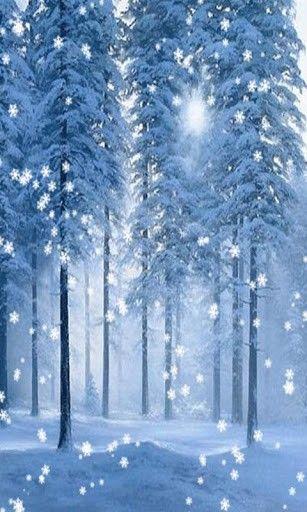 Snowfall Live Wallpaper For Pc Wallpapersafari Winter Wallpaper Snowfall Wallpaper 3d Nature Wallpaper