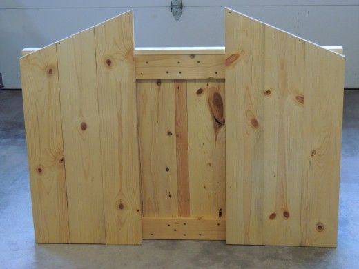 How To Build An Outdoor Manger, How To Build A Manger For Outdoors