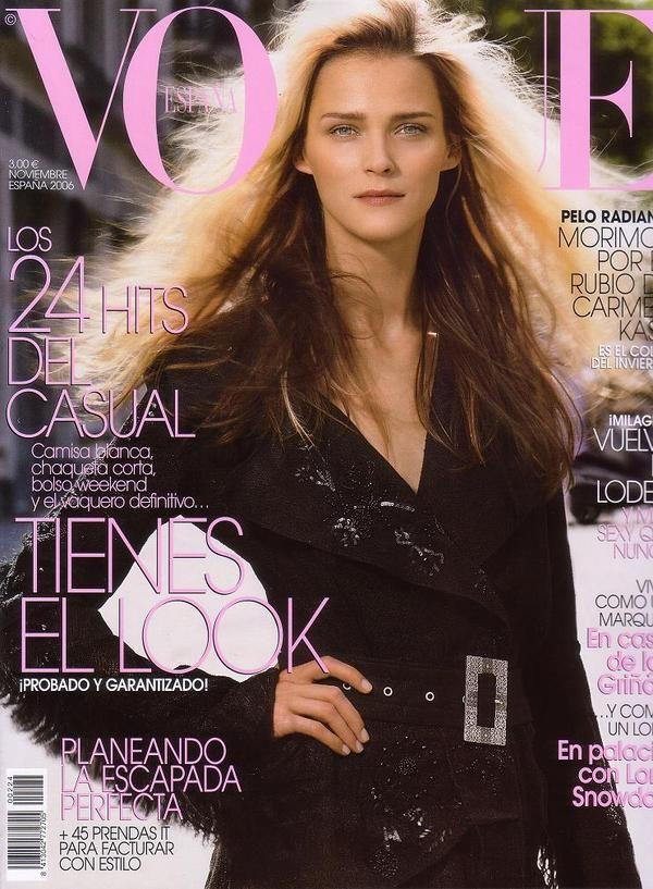 Vogue Spain November 2006 - Carmen Kaas
