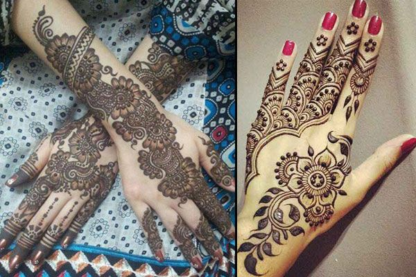 Differesnt Types Of Mehndi Designs