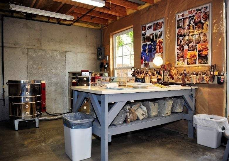 How to set up a great pottery studio right at home
