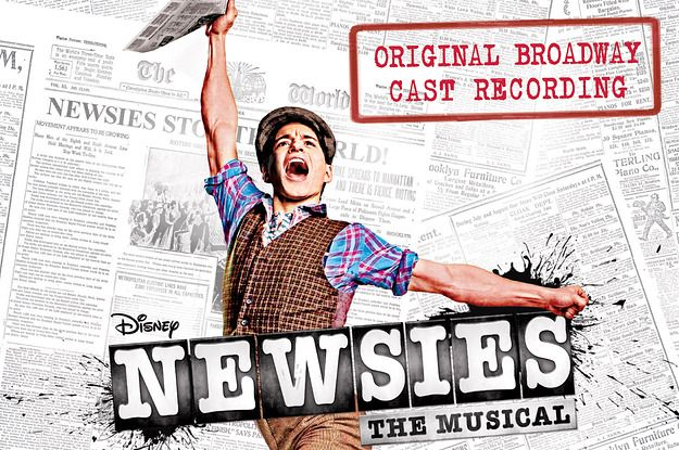 Which Newsies Song Are You? | Broadway Musicals | Newsies live, Best
