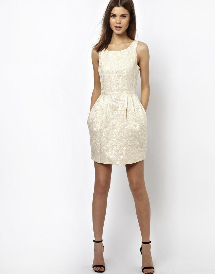 d88273c3f69a A Wear | A Wear Jacquard Tulip Dress at ASOS | Нарядные платья ...
