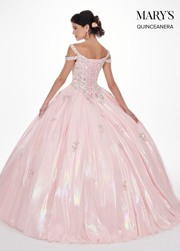 d093e7b3c Iridescent Off Shoulder Quinceanera Dress by Mary s Bridal MQ2070-Mary s  Bridal-ABC Fashion