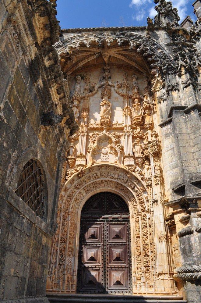 Tomar - Convento de Cristo e Castelo dos Templários #visitportugal