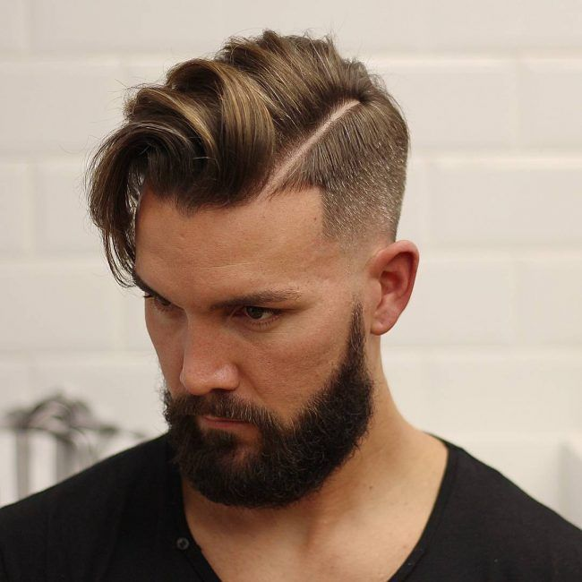 Receding Hairline 46 Beard Men Pinterest Hair Style Men 2017